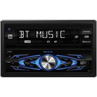 Dual DXRM58BT Double-DIN In-Dash Mechless AM-FM Receiver with Bluetooth