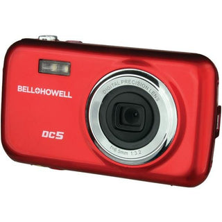 5.0-Megapixel Fun Flix(R) Kids Digital Camera (Red)