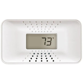First Alert 1039753 Carbon Monoxide Alarm with Temperature Digital Display