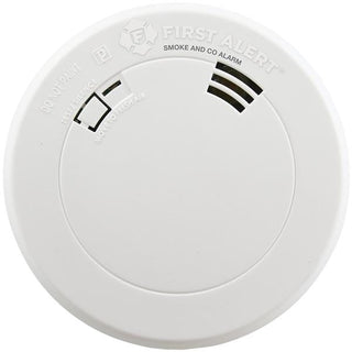 First Alert 1039787 Smoke & Carbon Monoxide Alarm with Voice & Location