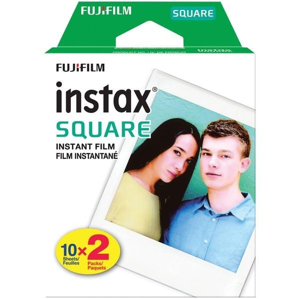 instax(R) SQUARE Film (Twin 10 pks)
