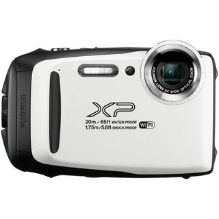 16.4-Megapixel FinePix(R) XP130 Digital Camera (White)