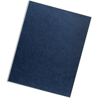 Expression Linen Presentation Covers , Letter, 200pk (Navy)