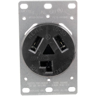 Single-Flush Dryer Receptacle (3 wire)