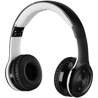 Bluetooth(R) Over-the-Ear Headphones with Microphone (Black)