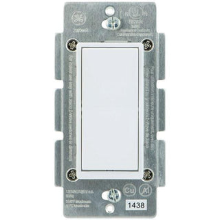 GE 12723 Z-Wave In-Wall 3-Way Add-on Paddle Switch