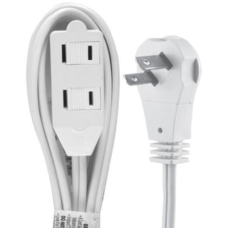2-Outlet Wall Hugger Extension Cord, 6ft
