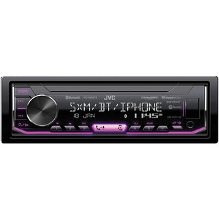 JVC Mobile KD-X360BTS KD-X360BTS Single-DIN In-Dash Digital Media Receiver with Bluetooth & SiriusXM Ready