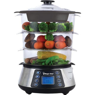 3-Tier Electric Food Steamer