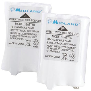 2-Way Radio Rechargeable Battery Pack, 2 pk