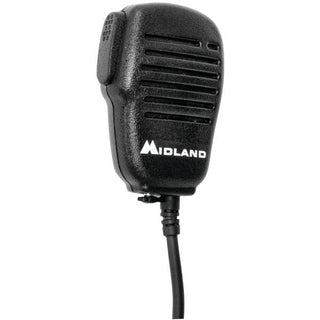 Handheld-Wearable Speaker Microphone with Push-to-Talk for GMRS Radios