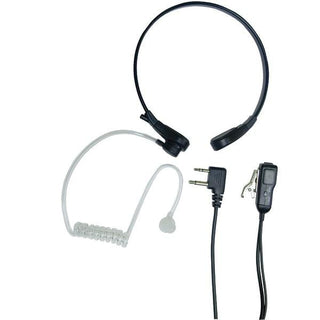 2-Way Radio Accessory (Acoustic Throat Microphone for GMRS Radios with PTT-VOX Compartment)