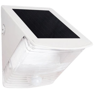 Solar-Powered Motion-Activated Wedge Light (White)
