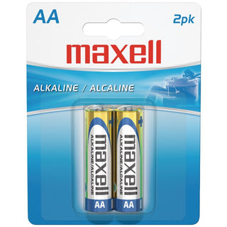 Alkaline Batteries (AA; 2 pk; Carded)