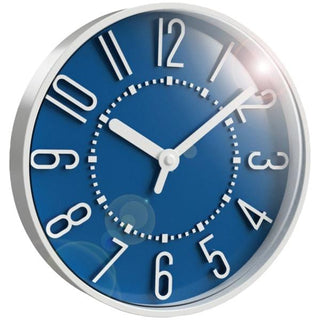 10-Inch Storm Blue Wall Clock