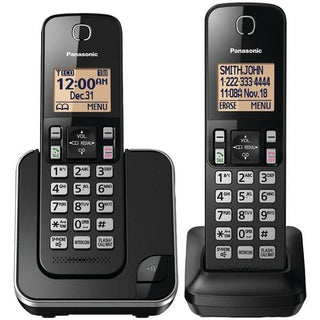 Expandable Cordless Phone System (Double-handset system)