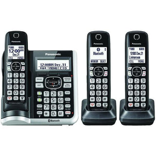 Link2Cell(R) Bluetooth(R) Cordless Phone with Answering Machine (3 Handsets)