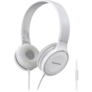 Lightweight On-Ear Headphones with Microphone (White)