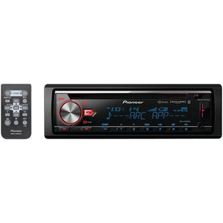 Single-DIN In-Dash CD Receiver with MIXTRAX(R), Bluetooth(R), HD Radio(TM) & SiriusXM(R) Ready