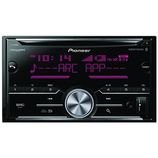 Double-DIN In-Dash CD Receiver with Bluetooth(R) & SiriusXM(R) Ready