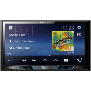 "7"" Double-DIN In-Dash Digital Media & A-V Receiver with Bluetooth(R)"