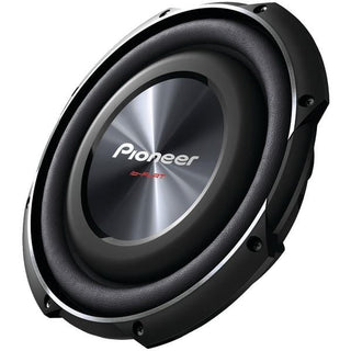 "10"" 1,200-Watt Shallow-Mount Subwoofer with Single 4ohm Voice Coil"