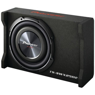 "10"" Preloaded Subwoofer Enclosure Loaded with TS-SW2502S4"