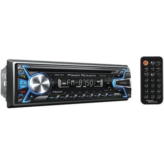 Power Acoustik PCD-51B Single-DIN In-Dash CD-MP3 AM-FM Receiver (With Bluetooth)