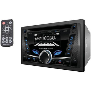 Double-DIN In-Dash CD-MP3 AM-FM Receiver with Bluetooth(R)