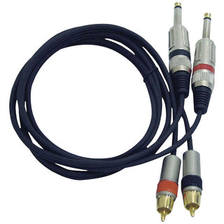 Dual Professional Audio Link Cable, 5ft