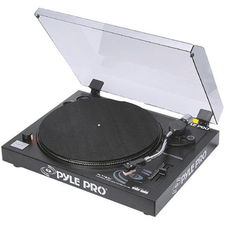 Belt-Drive USB Turntable with Digital Recording Software