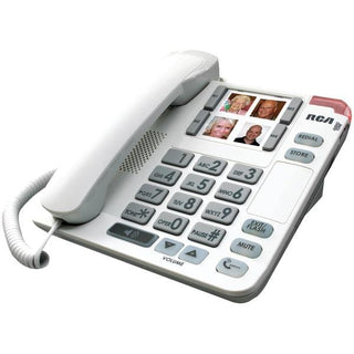 RCA 1123-1WTGA Legend Series Amplified Big-Button Corded Deskphone with Speakerphone