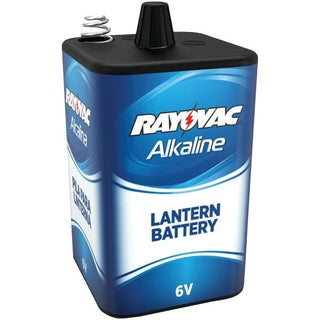 6-Volt, 4-Alkaline, D-Cell-Equivalent Lantern Battery with Spring Terminals