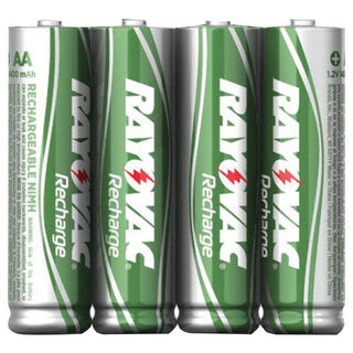 Ready-to-Use NiMH Rechargeable Batteries (AAA; 600mAh; 4 pk)