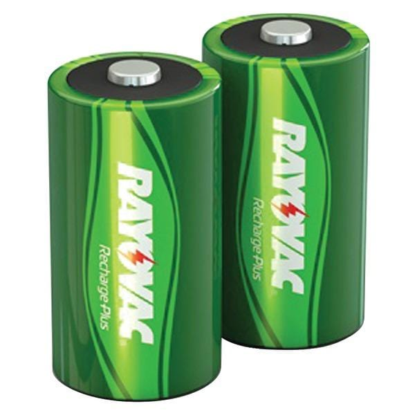 Ready-to-Use NiMH Rechargeable Batteries (D; 2 pk; 3,000mAh)