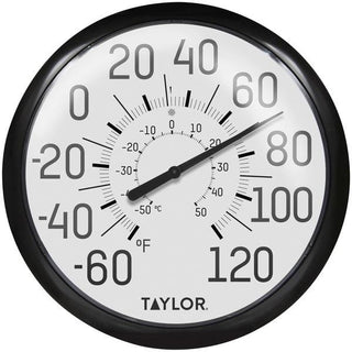 13.25-Inch Big and Bold Dial Outdoor Thermometer