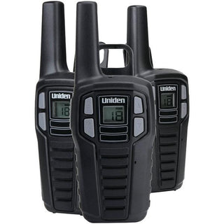 16-Mile 2-Way FRS-GMRS Radios (3 pk; with 9 batteries)