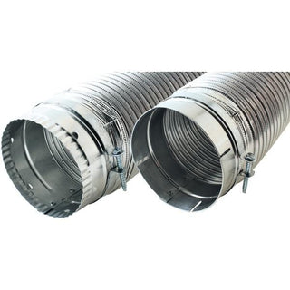 "Builder's Best 110120 4"" x 8ft Dryer Vent Duct"