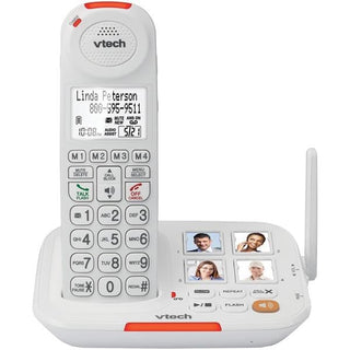VTech VTSN5127 Amplified Cordless Answering System with Big Buttons & Display