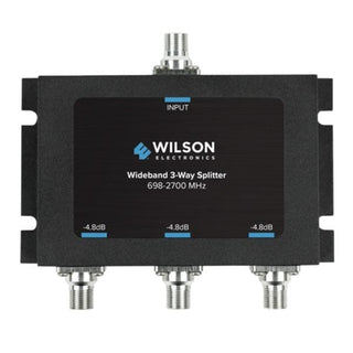 Wideband 3-Way Splitter with F-Female Connector