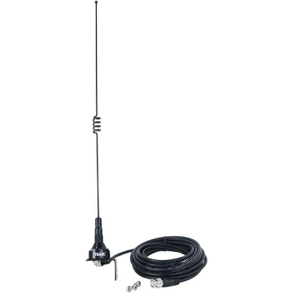 Pre-Tuned 140MHz-170MHz VHF-430MHz-470MHz UHF Dual-Band Trunk or Hole Mount Antenna Kit with BNC Male Connector