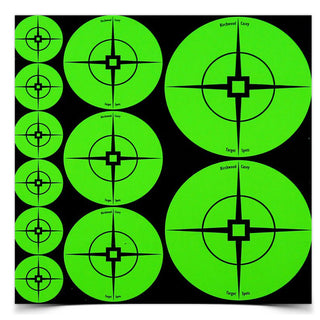 B-c Target Spots Green Assortment