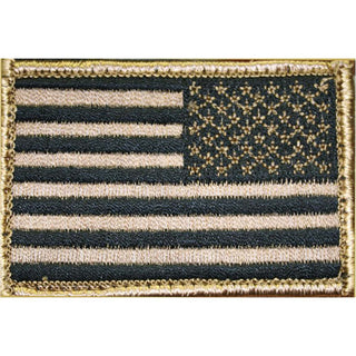 Bh Patch American Flag Rvrsd Tan-blk