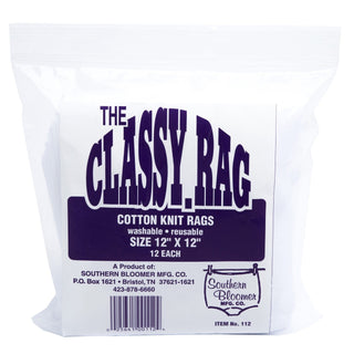 "Sthrn Blmr Cotton Rag 12x12"" 12-bag"