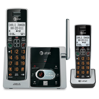 2 Handset Answering System With Cid