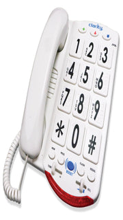 76557.101 50db Phone Large White Keys