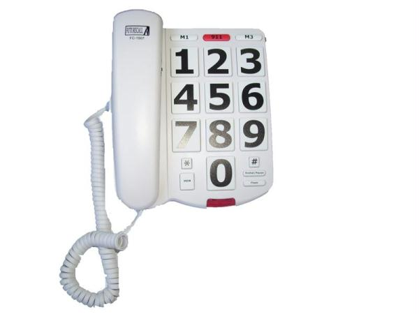 Big Button Phone 40db Handset Volume