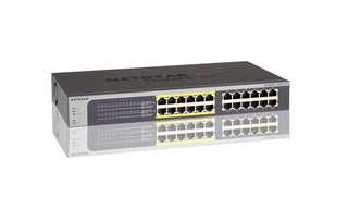 24 Port Gigabit Switch With 12 Poe