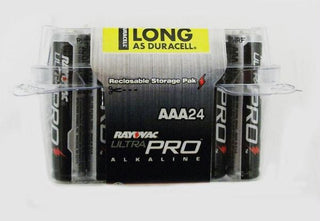 Alkaline Reclosable Aaa 24 Pack