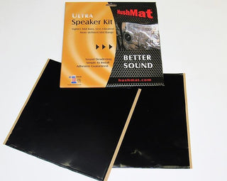 Hushmat Ultra Speaker Kit (4) 6 X 12-black Foil 2 Sq. Ft.